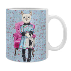 Coco de Paris Cat with cat bag Coffee Mug