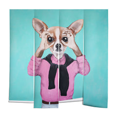 Coco de Paris Chihuahua is looking Wall Mural