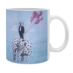 Coco de Paris Dalmatian with dalma Elephant Coffee Mug