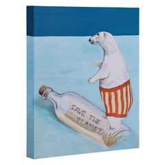Coco de Paris Polar Bear Art Canvas