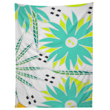 CocoDes Bright Tropical Flowers Tapestry