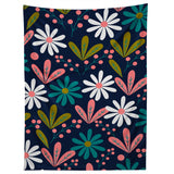 CocoDes Daisies at Midnight Tapestry