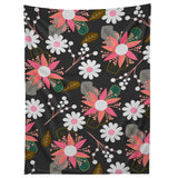 CocoDes Floral Fantasy at Night Tapestry