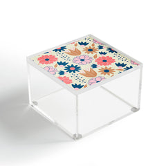 CocoDes Happy Spring Flowers Acrylic Box
