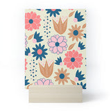 CocoDes Happy Spring Flowers Mini Art Print