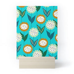 CocoDes Jolly Floral Group Mini Art Print