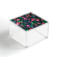 CocoDes Sweet Flowers at Midnight Acrylic Box