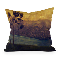 Conor O'Donnell Tree Study Nine Throw Pillow