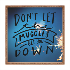 Craft Boner Dont let the muggles get you down Square Tray