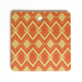 CraftBelly Tribal Persimmon Cutting Board Square