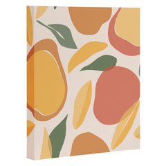 Cuss Yeah Designs Abstract Mango Pattern Art Canvas