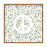 Dash and Ash Leaf Peace Square Tray