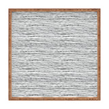 Dash and Ash Painted Stripes Square Tray