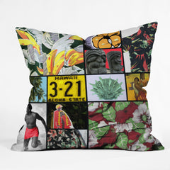 Deb Haugen Hawaii One Outdoor Throw Pillow