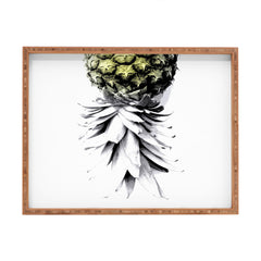 Deb Haugen Pineapple 1 Rectangular Tray