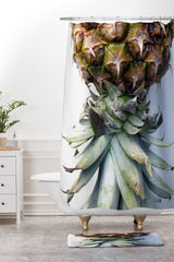 Deb Haugen Pineapple 2 Shower Curtain And Mat