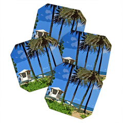 Deb Haugen Sunset Beach Coaster Set