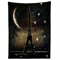 Deniz Ercelebi Paris Midnight Tapestry