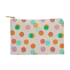 Doodle By Meg Smiley Face Stamp Print Pouch