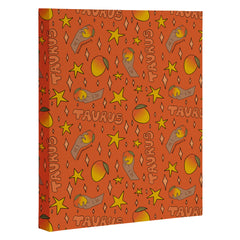 Doodle By Meg Taurus Mango Print Art Canvas