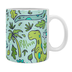 Doodle By Meg Tropical Dinos Coffee Mug