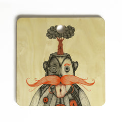 Duane Hosein The Immortal Doctor Cutting Board Square