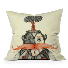 Duane Hosein The Immortal Doctor Throw Pillow
