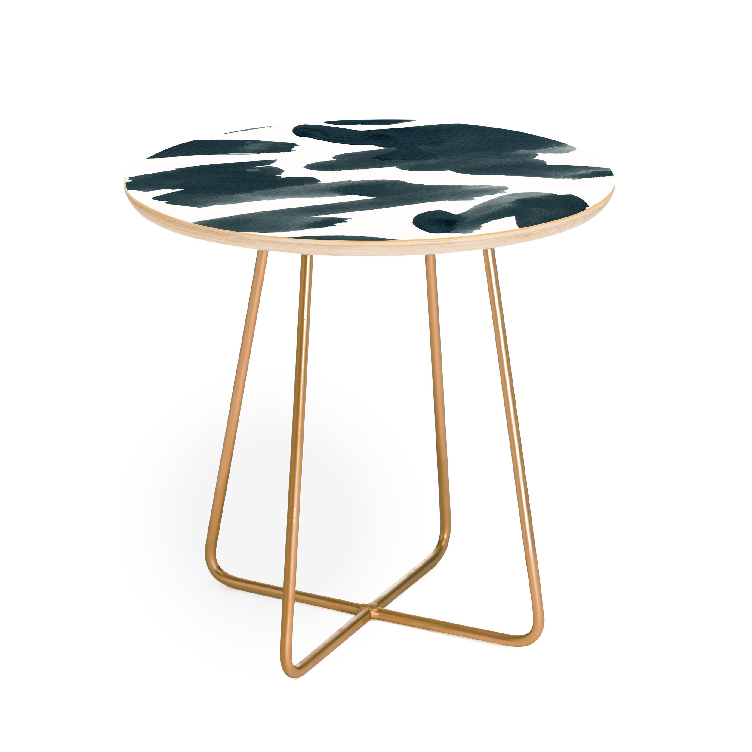 Elena Blanco Bits of night Round Side Table