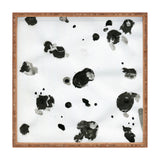Elena Blanco Ink drops Square Tray