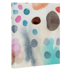 Elena Blanco More pebbles Art Canvas