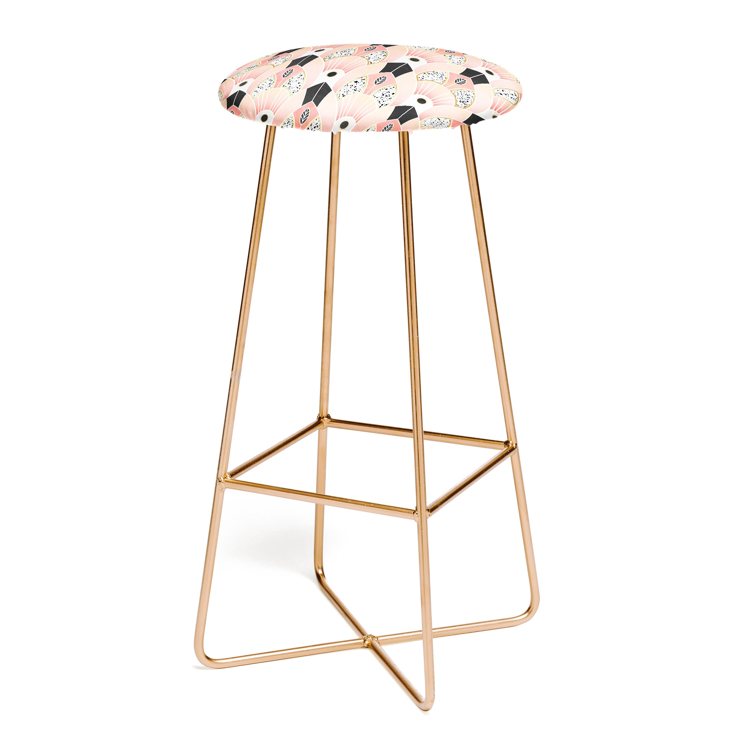 Elisabeth Fredriksson Blush Deco Bar Stool