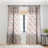 Elisabeth Fredriksson Coffee Cup Collection Sheer Window Curtain