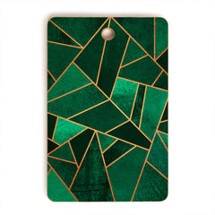 Elisabeth Fredriksson Emerald And Copper Cutting Board Rectangle