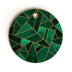 Elisabeth Fredriksson Emerald And Copper Cutting Board Round