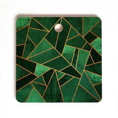 Elisabeth Fredriksson Emerald And Copper Cutting Board Square