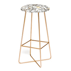 Elisabeth Fredriksson Gold Speckled Terrazzo Bar Stool