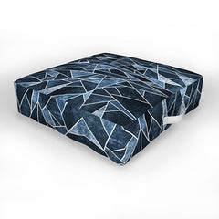 Elisabeth Fredriksson Shattered Sky Outdoor Floor Cushion