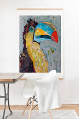Elizabeth St Hilaire Toucan Dance Art Print And Hanger