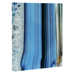 Emanuela Carratoni Blue Shadows Art Canvas