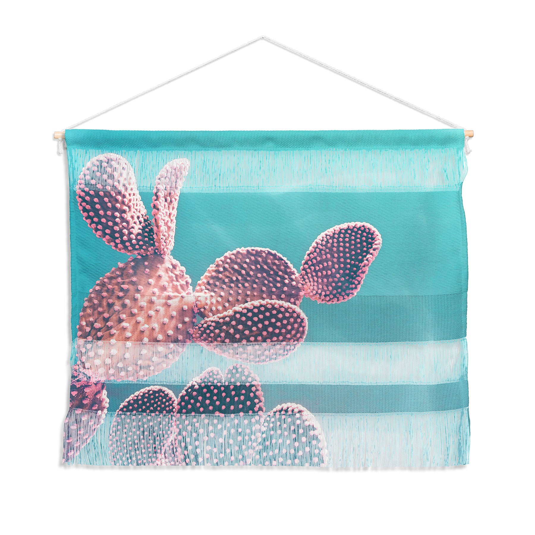 Emanuela Carratoni Candy Cactus Wall Hanging Landscape