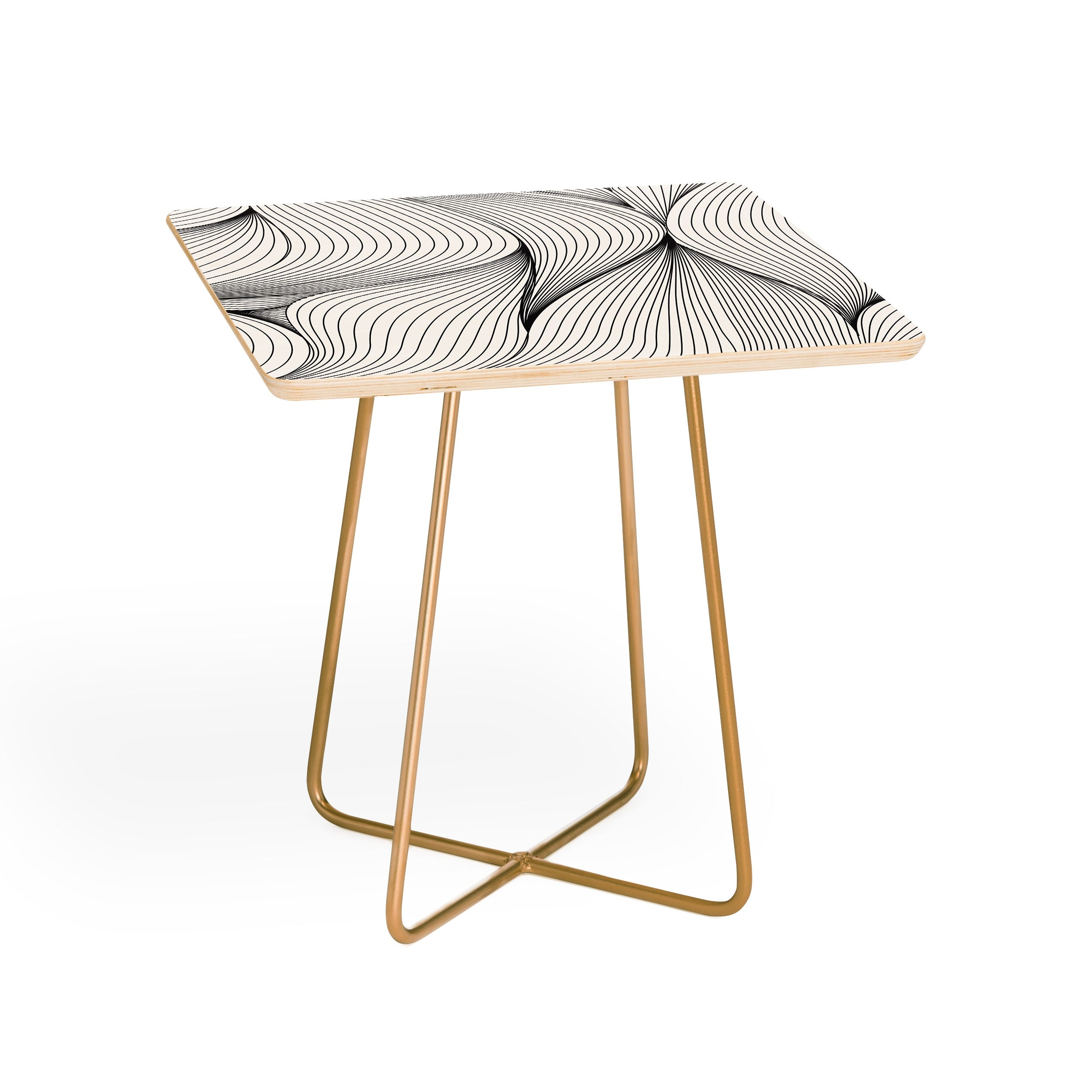 Emanuela Carratoni Seamless Lines Side Table
