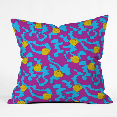 at rubber ducks on purple art products deny designs