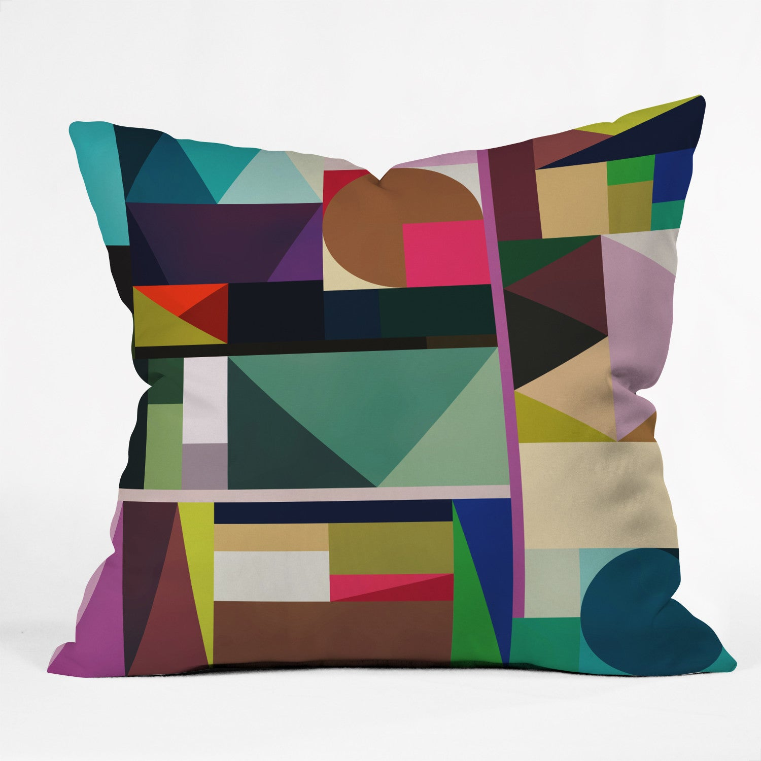 Fimbis Kaku Outdoor Throw Pillow