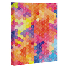 Fimbis Summer Garden Art Canvas