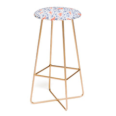Florent Bodart Animals and Plants Pattern Bar Stool