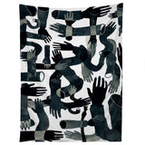Francisco Fonseca black hands Tapestry