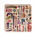 Francisco Fonseca life Cutting Board Square