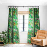 Gabriela Fuente Lost paradise Blackout Window Curtain