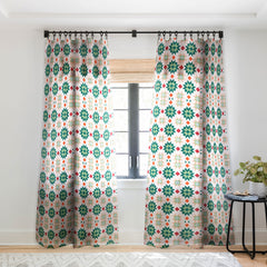 Gabriela Fuente Lumi Sheer Window Curtain