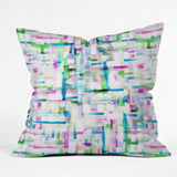Gabriela Fuente Mix match watercolor Outdoor Throw Pillow